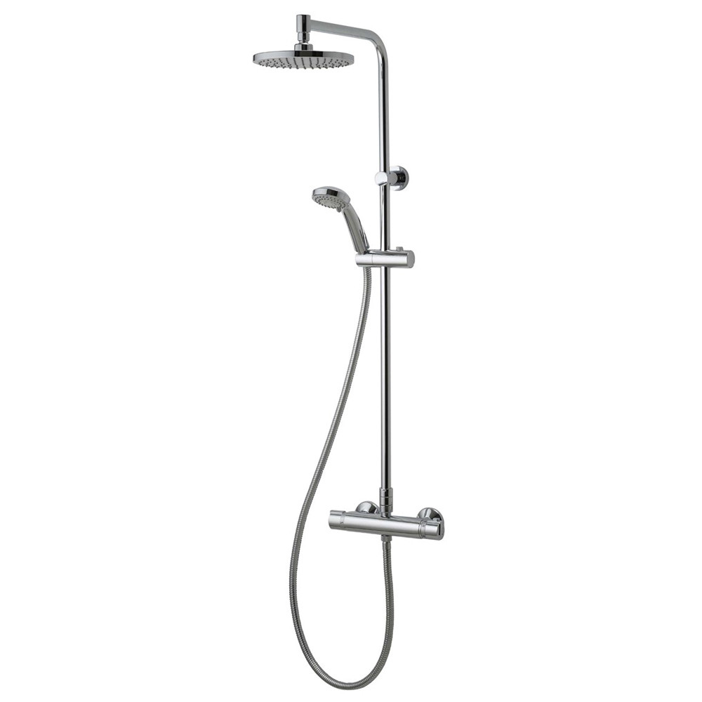 Aqualisa Thermostatic Rigid Riser & Handset Shower System