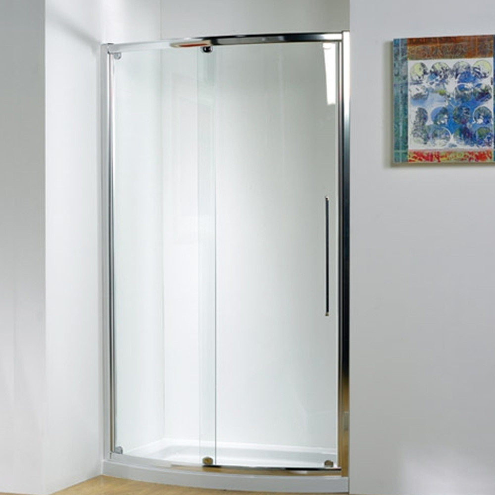 Kudos original bow fronted slider door 1200 white 3bow120w for 1200 door