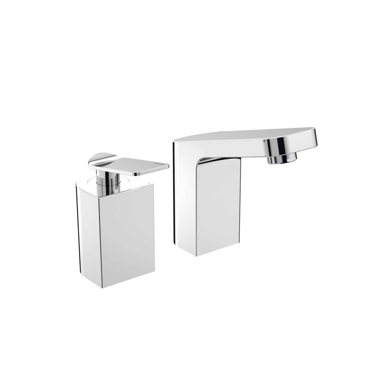 Bristan Alp Chrome 2 Tap Hole Bath Filler - ALP-2HBF-C