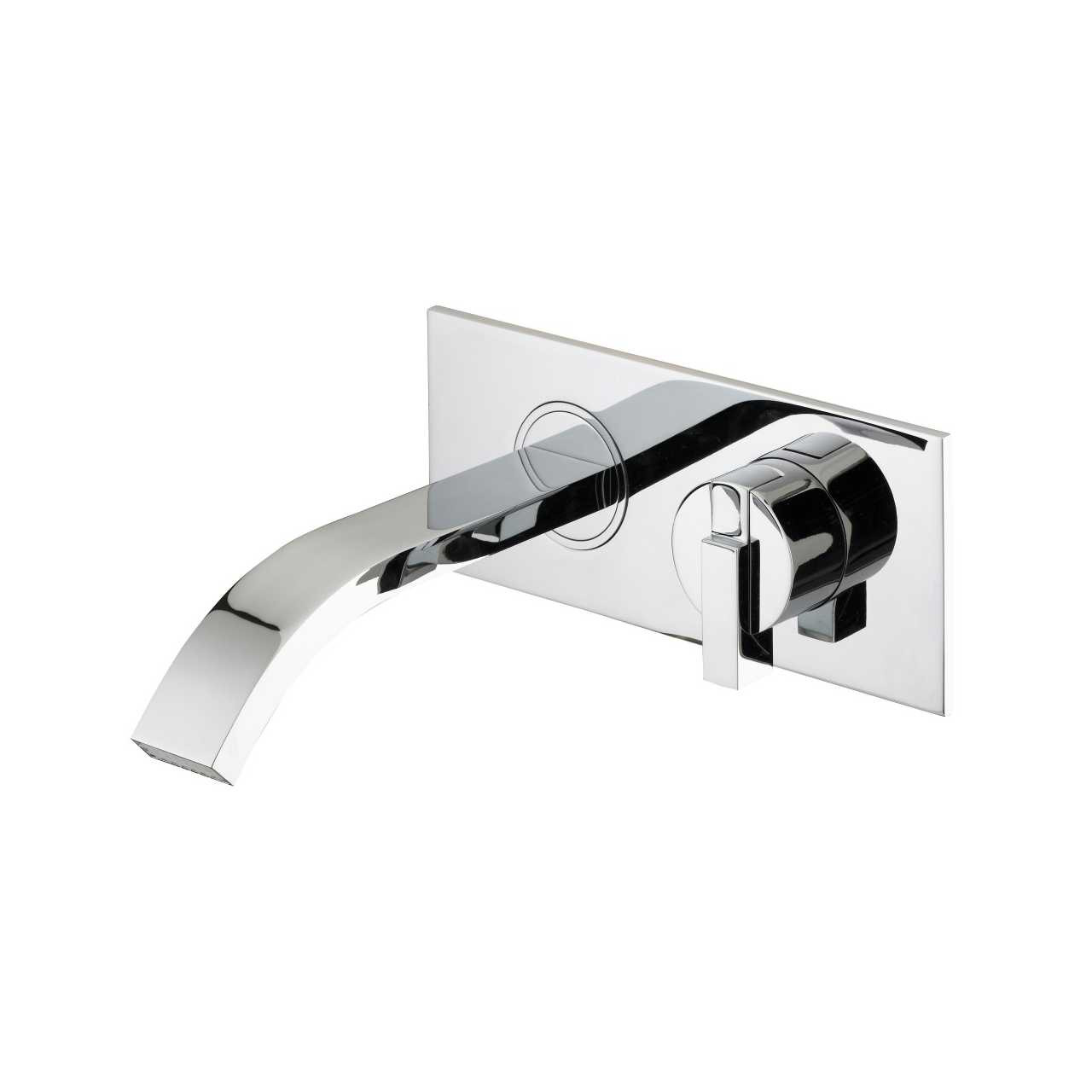 Bristan Chill Chrome Wall Mounted Bath Filler Tap - CL-WMBF-C