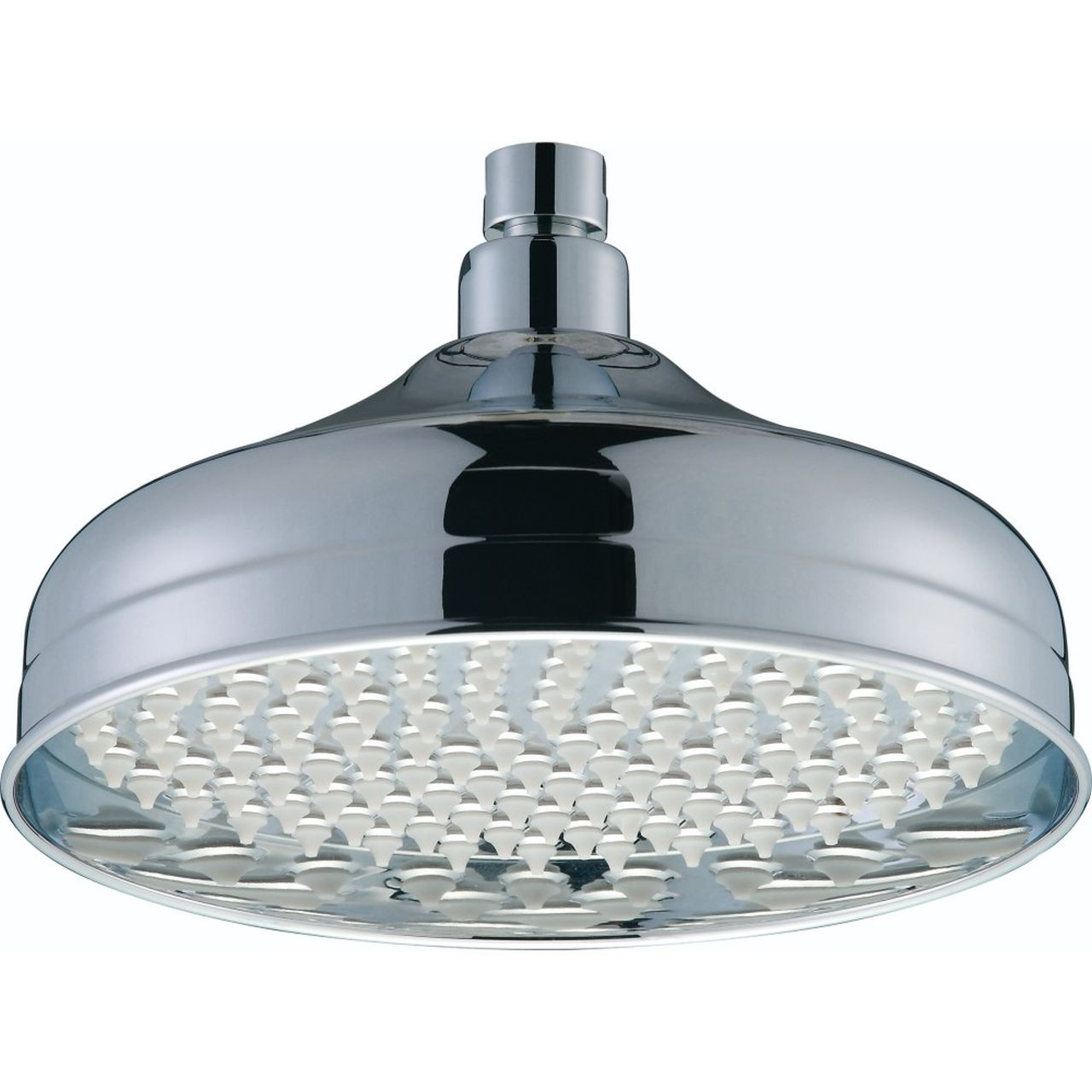 Bristan Chrome 145mm Traditional Round Fixed Shower Head - FH-TDRD02-C