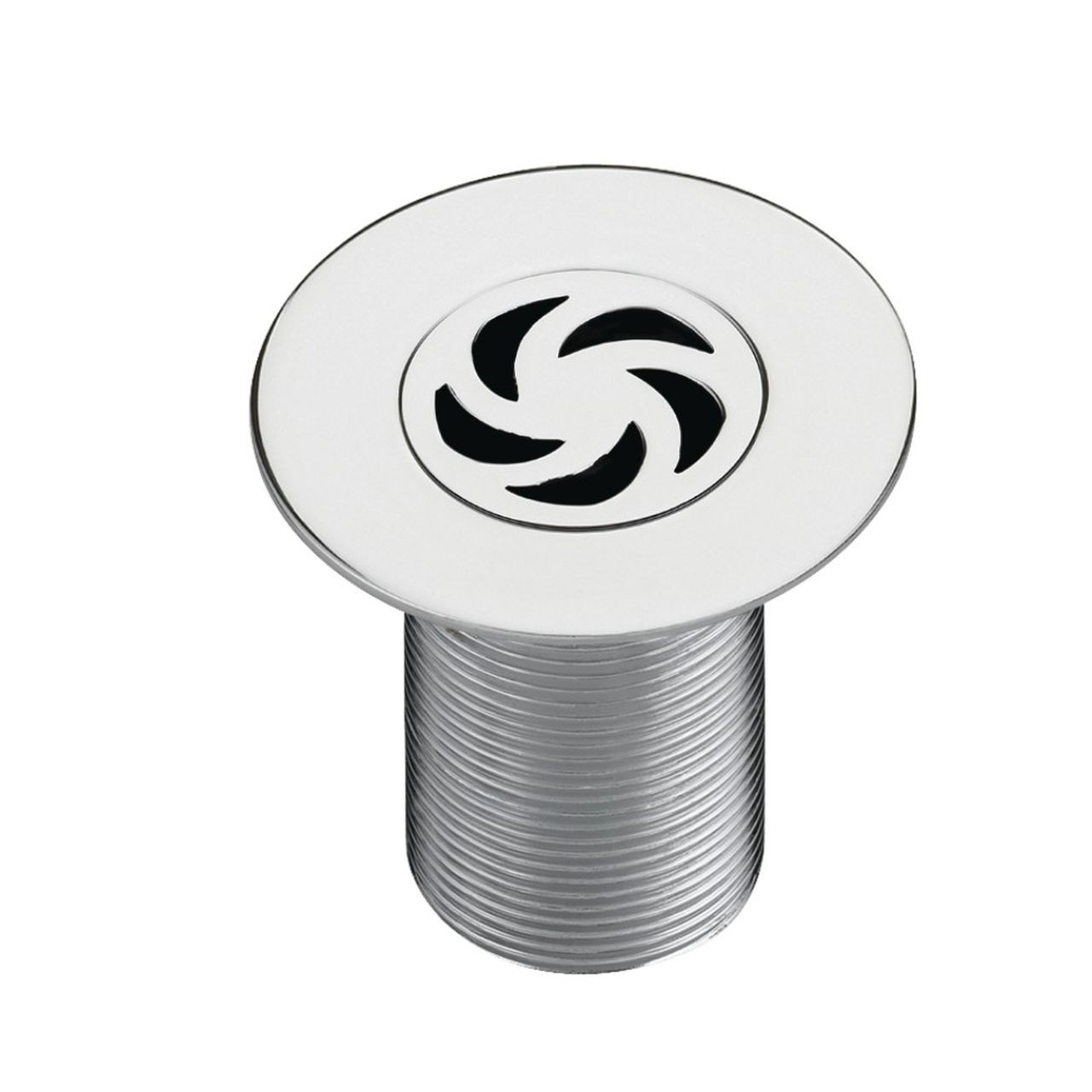 Bristan Chrome 1 1/2 Inch Shower Waste with 85mm Flange - W-SHW4-C