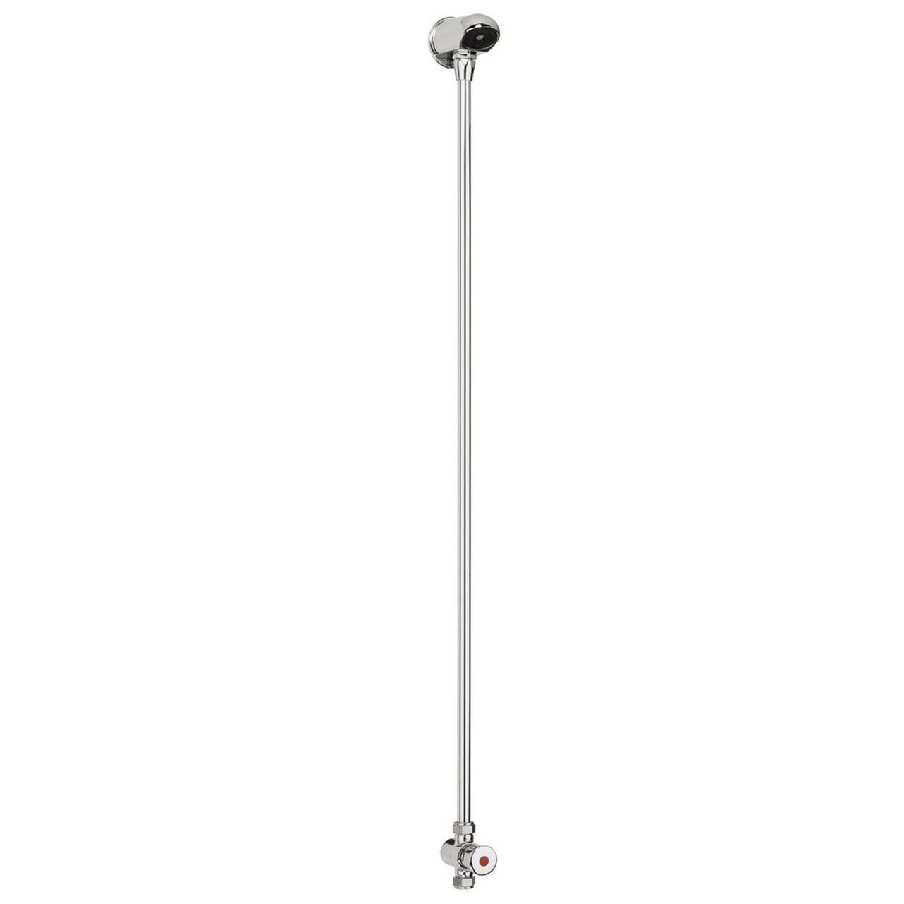 Bristan Exposed Chrome Timed Flow Control Shower with Fixed Head - MEFC-PAK