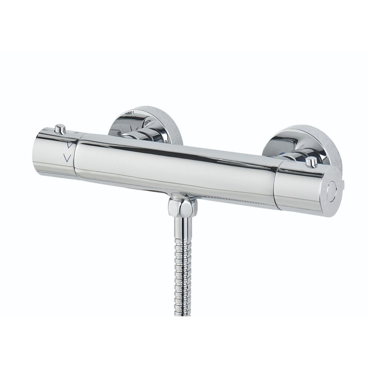 Bristan Frenzy Chrome Cool Touch Thermostatic Bar Shower Mixer with Fast Fit Connections - FZ-SHXVOCTFF-C