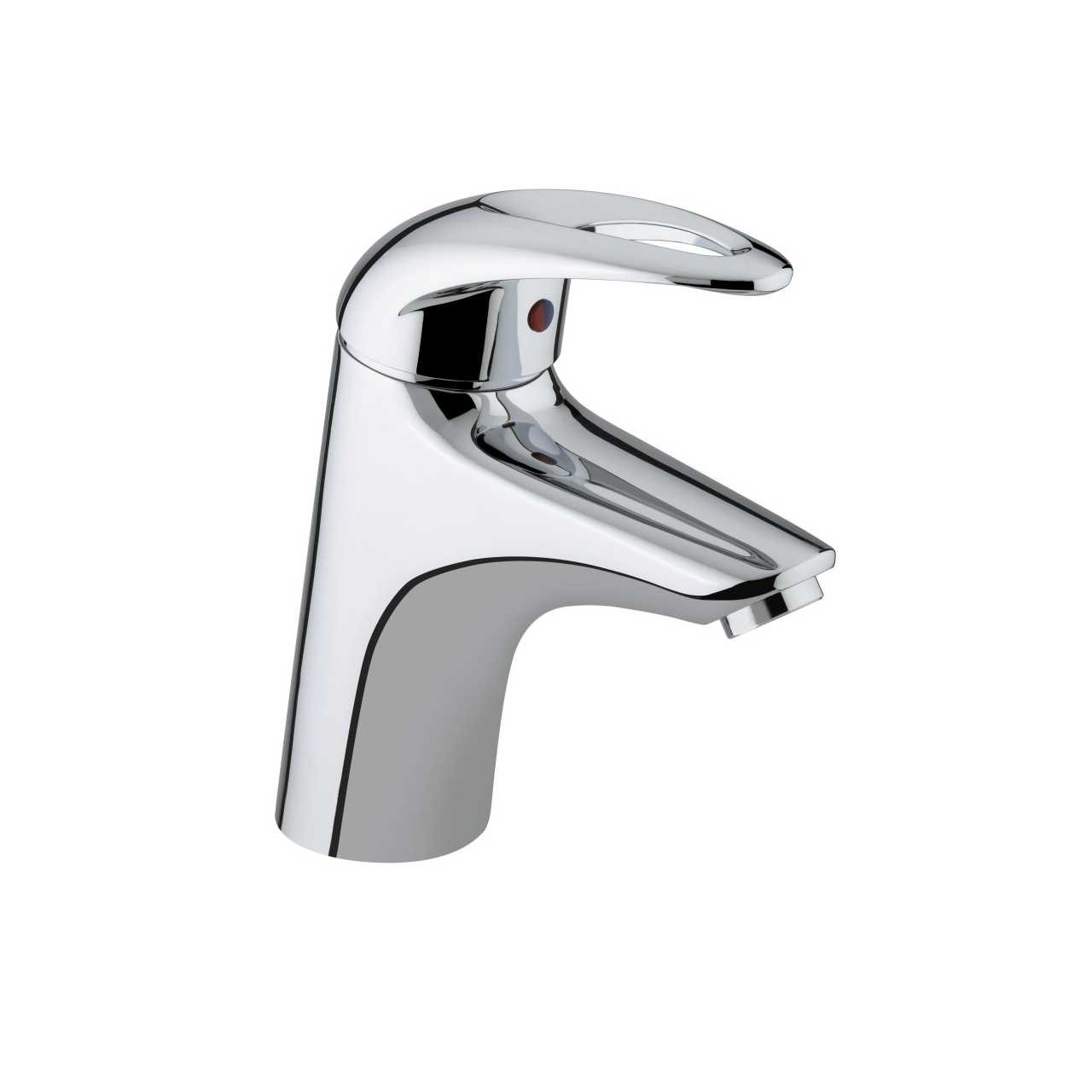 Bristan Java Chrome 1 Tap Hole Bath Filler - J-1HBF-C