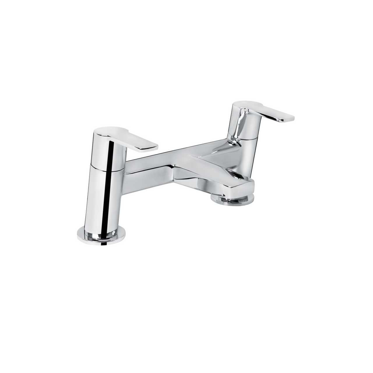 Bristan Pisa 2 Chrome Bath Filler Tap - PS2-BF-C