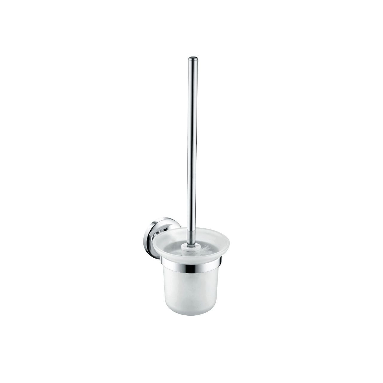 Bristan Solo Chrome Wall Mounted Toilet Brush and Holder - SO-WHBRU-C