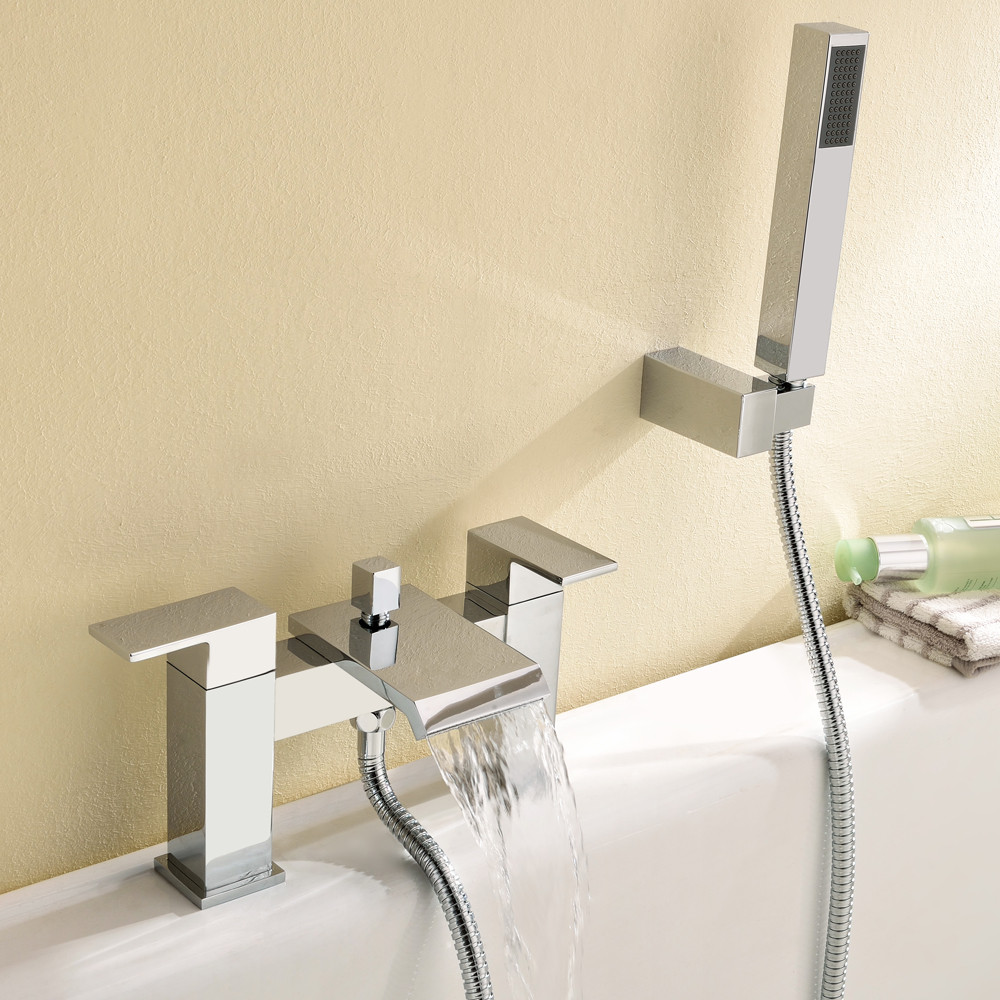 Cascade Bath Shower Mixer Tap & Kit