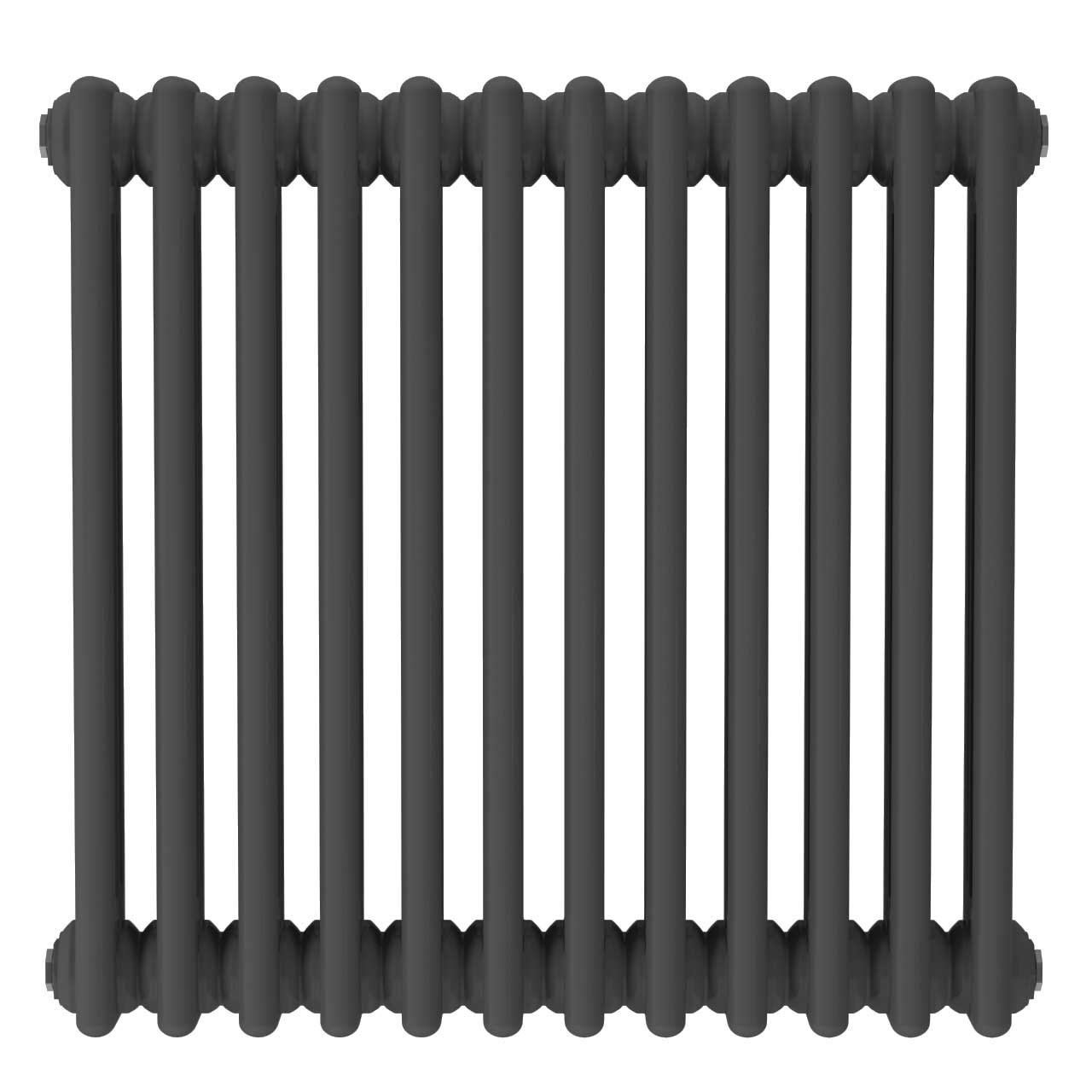 Colosseum Anthracite 600mm x 554mm Horizontal Triple Panel Radiator