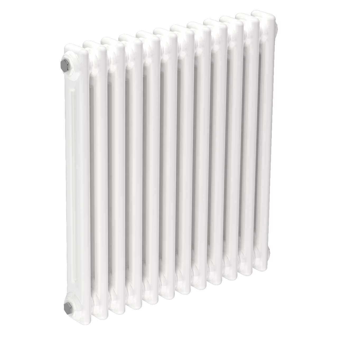 Colosseum White 600mm x 548mm Horizontal Double Panel Radiator
