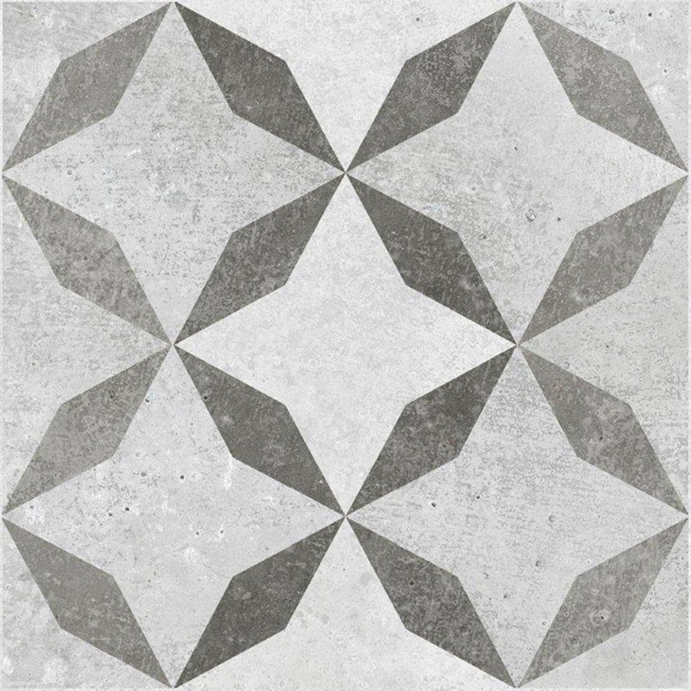 BCT Concrete Feature 33.1cm x 33.1cm Ceramic Floor Tile - BCT14423