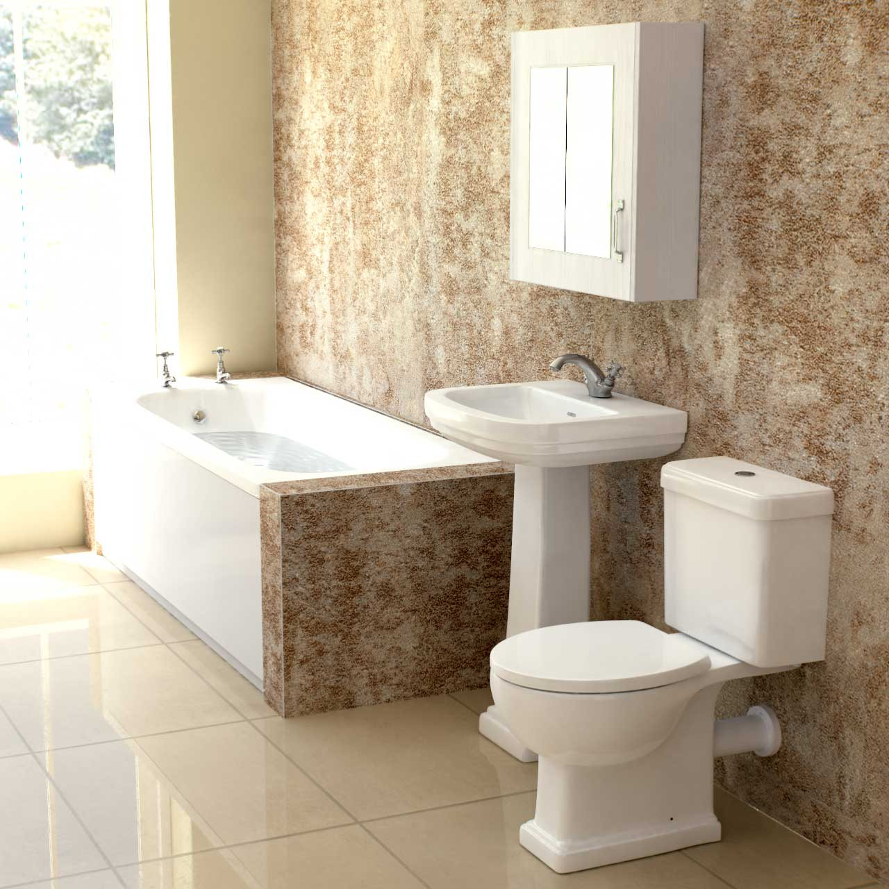 Corum Bathroom Suite
