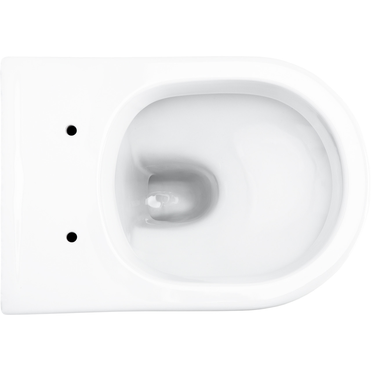 D-Shape Back to Wall Pan Overhead