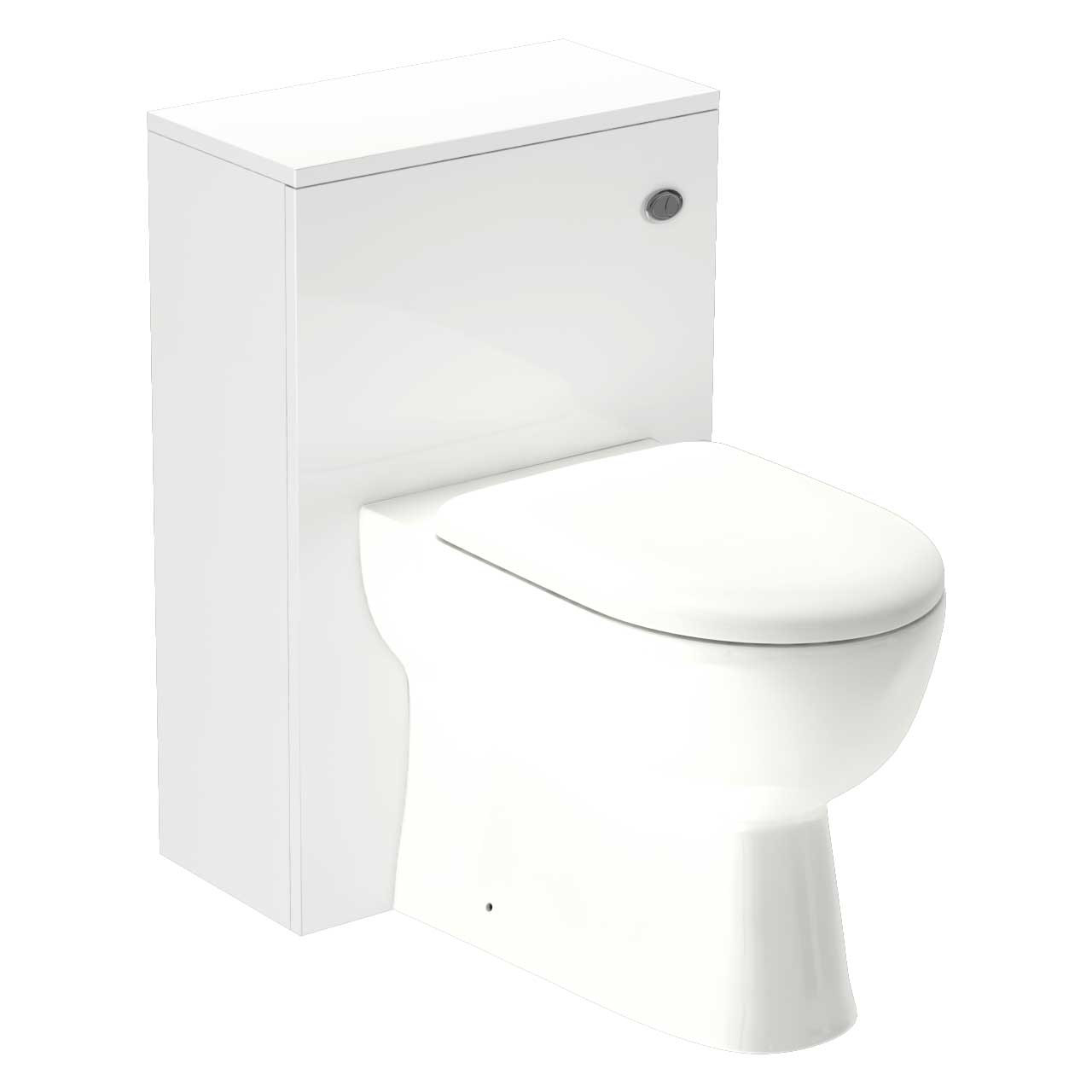 D-Shape Back to Wall Pan & Select 500 WC Unit