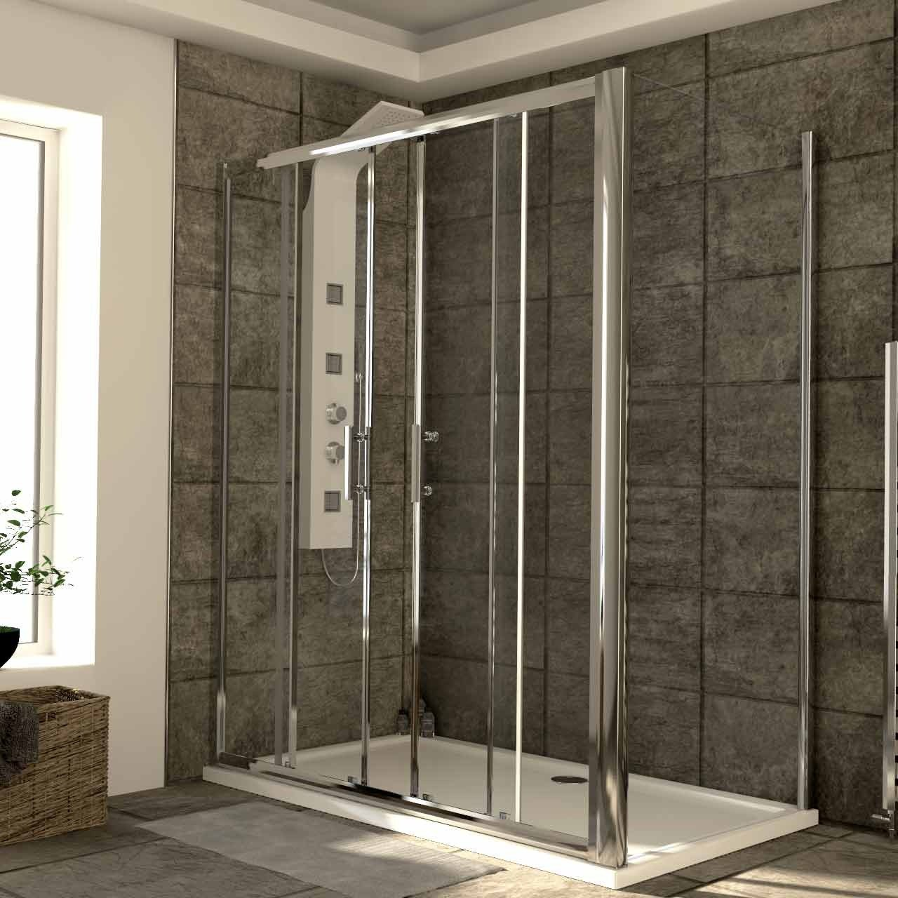 Series 6 1600mm x 900mm Double Sliding Door Shower Enclosure