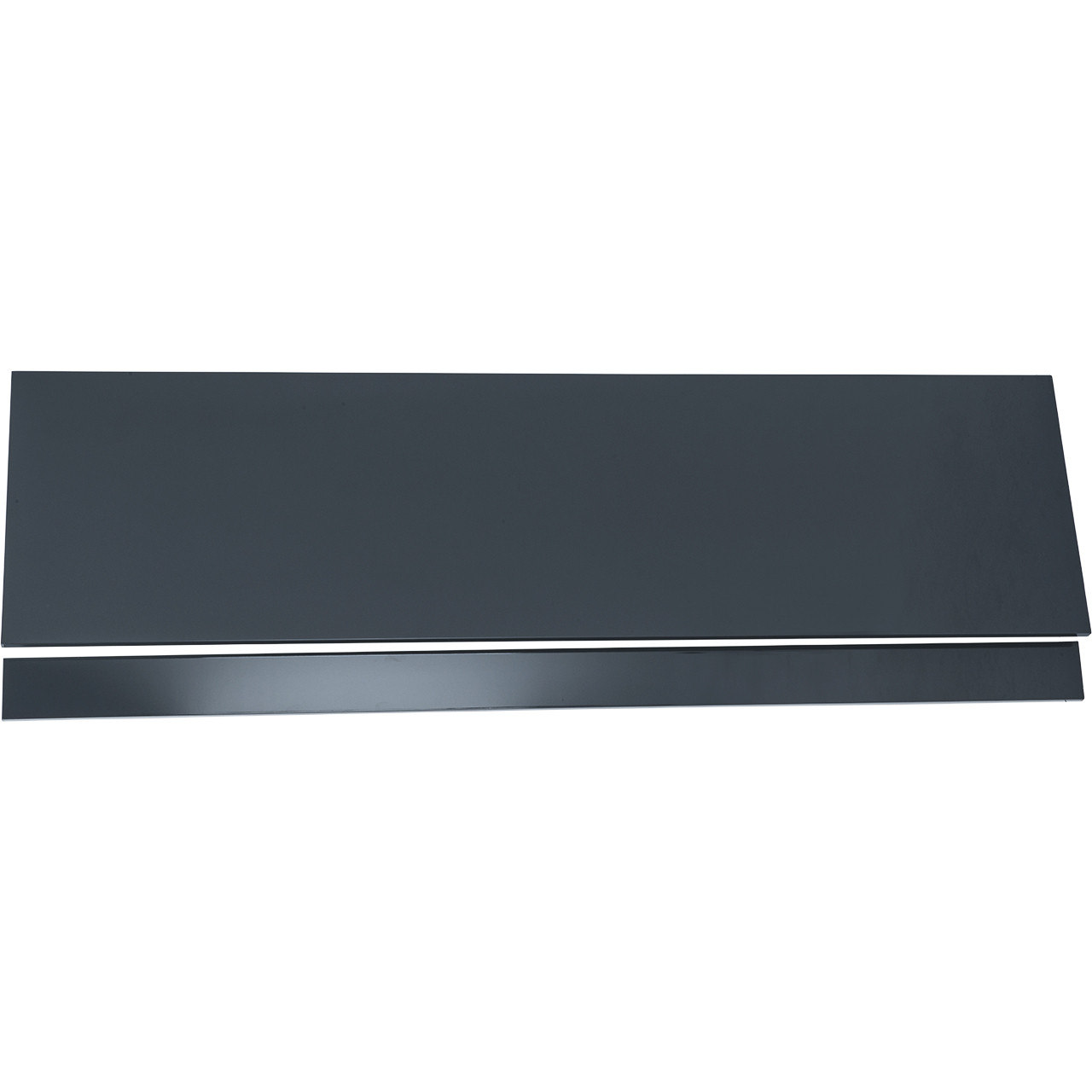 1800 Grey Gloss Bath Front Panel