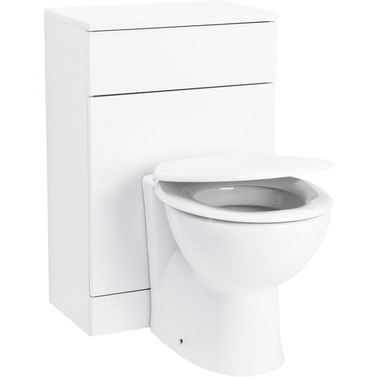 Alexander James 500mm x 300mm Toilet Unit & James Back to Wall Pan