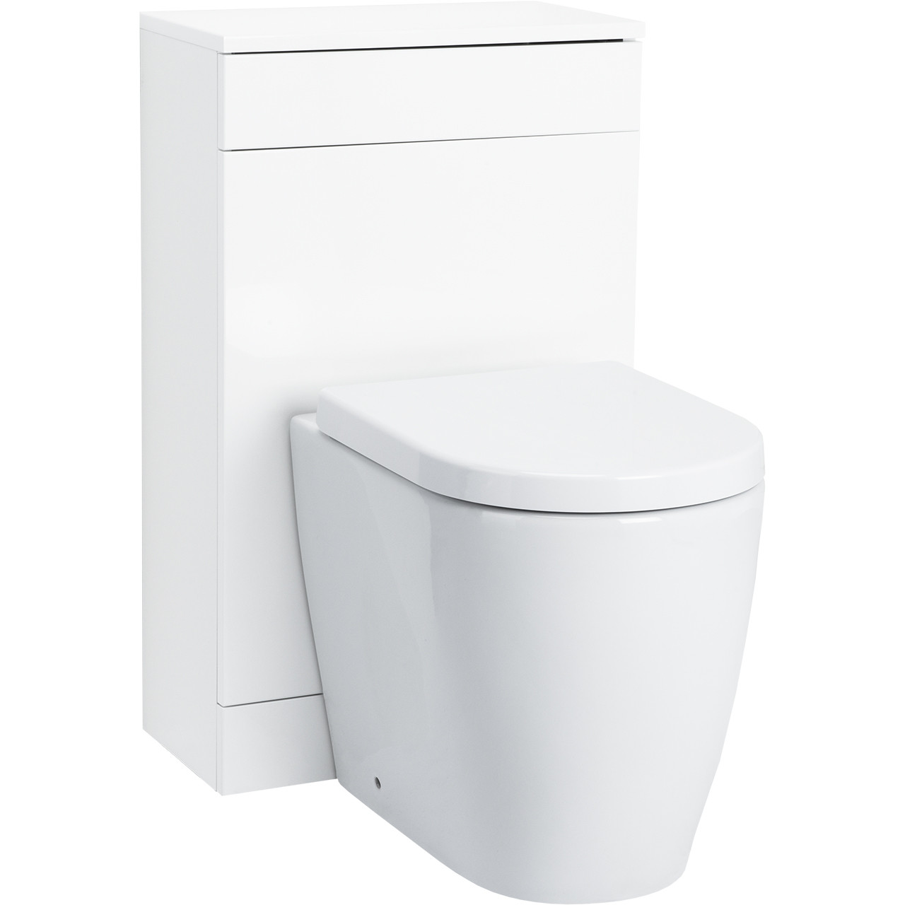 Napoli 500 WC Unit Gloss White