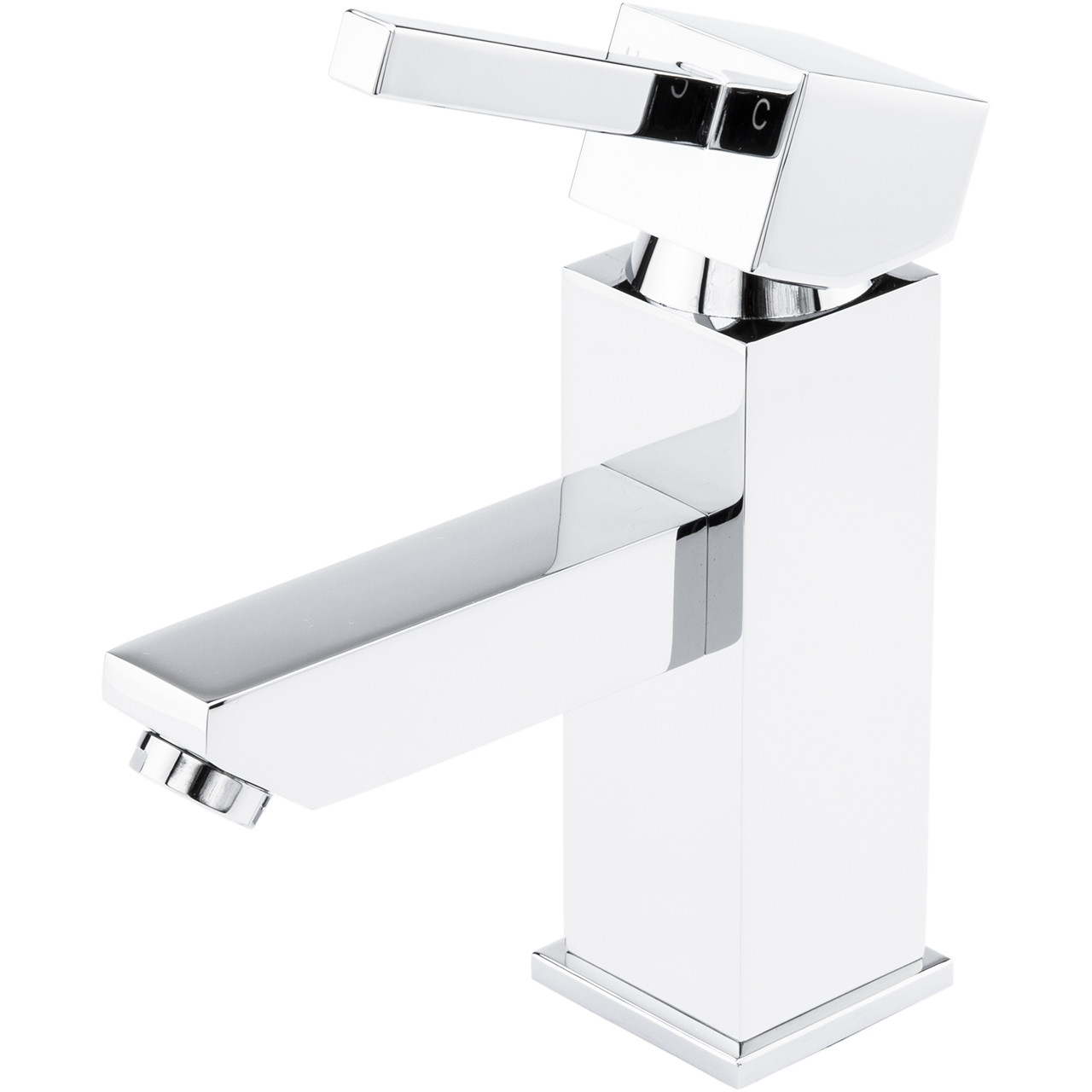 Flux Mono Basin Mixer Tap