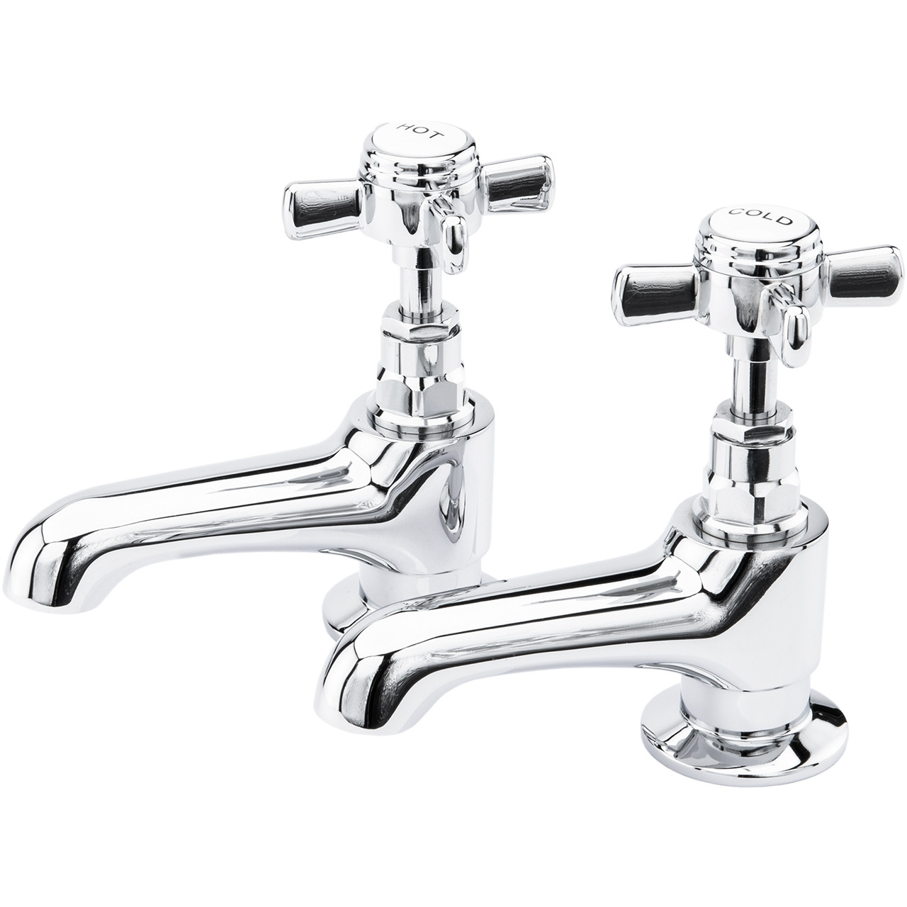 Windsor Traditional Bath Taps Pair