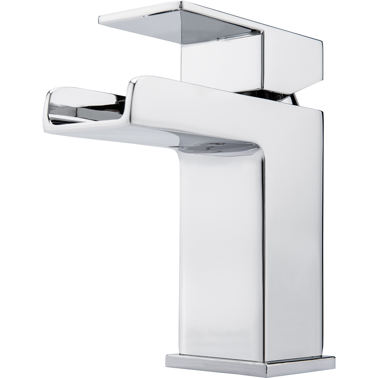 Cubix Waterfall Mono Basin Mixer Tap