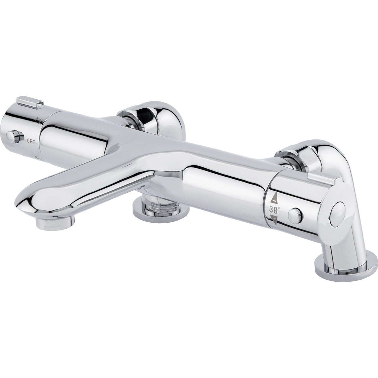 Swan Deck Or Wall Mounted Thermostatic Bath Shower Mixer
