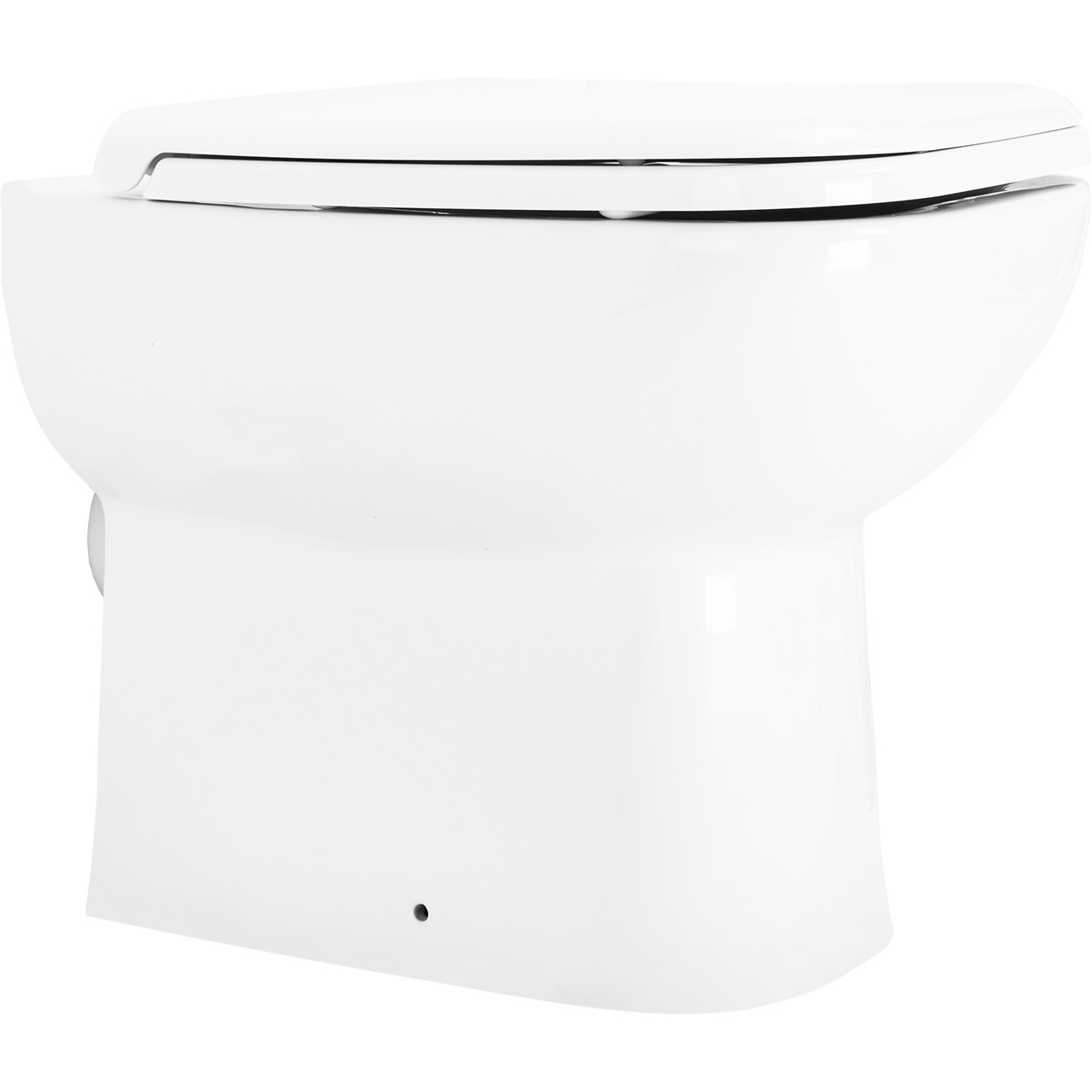 Forth Back To Wall Toilet with Soft Close Seat Side