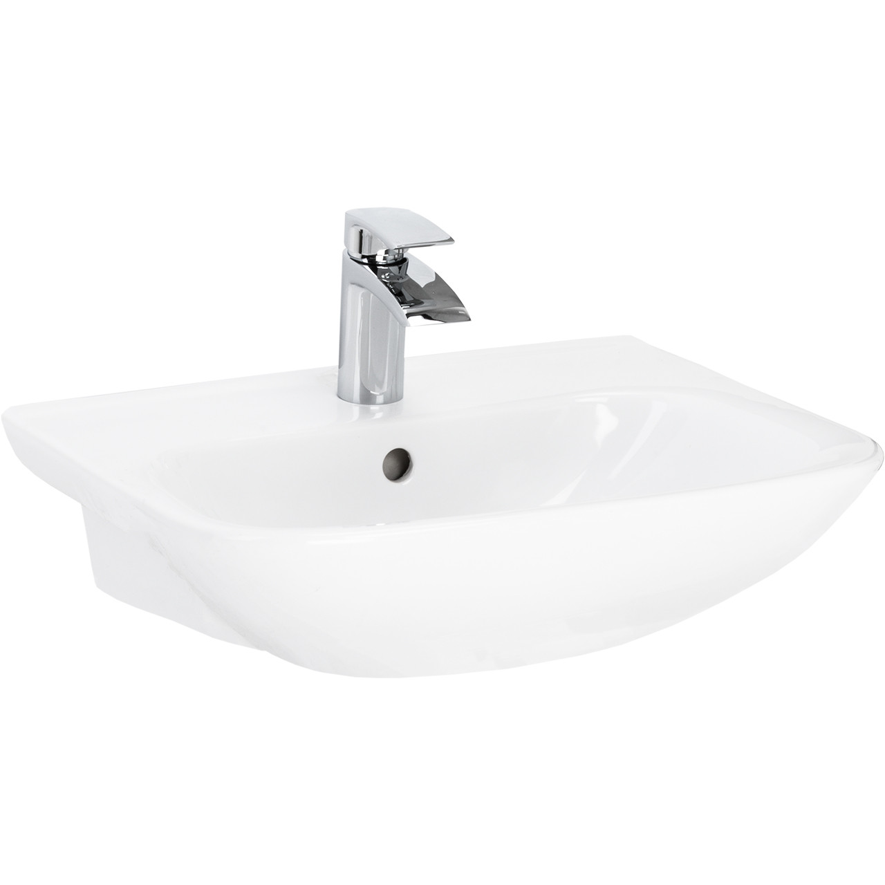 Forth Semi Recessed Basin