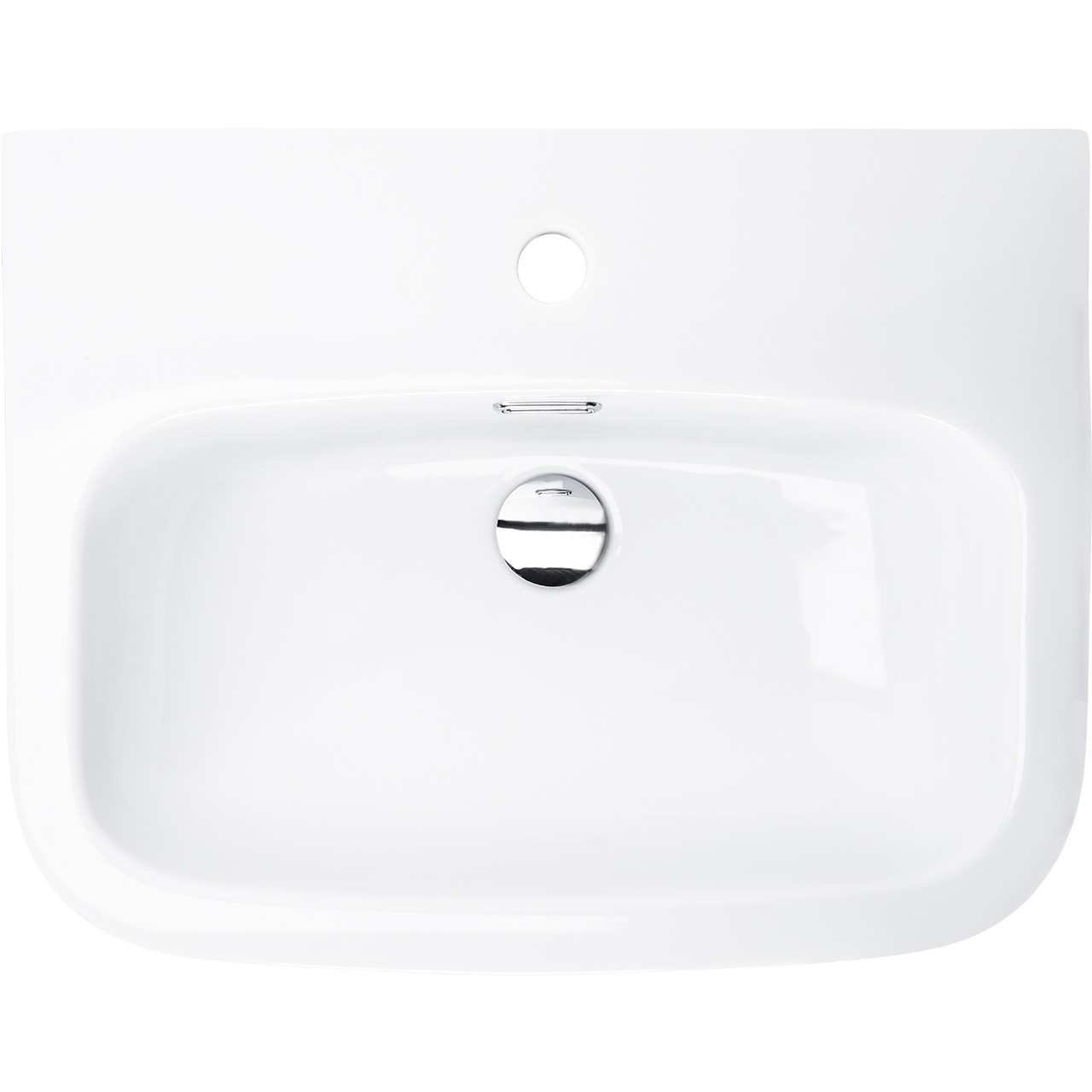 Galata 550mm Basin & Half Height Pedestal  Overhead