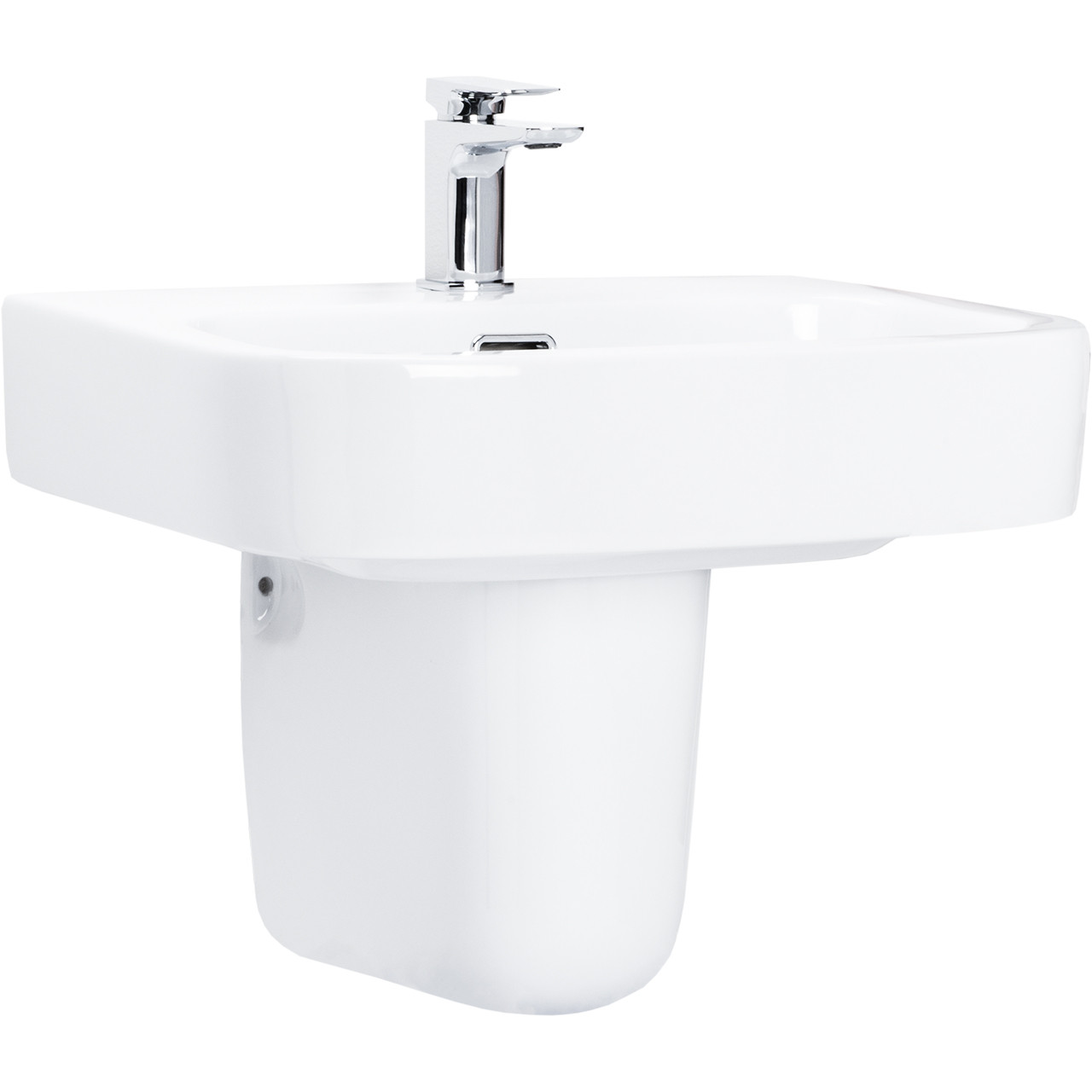 Galata 550mm Basin & Half Height Pedestal