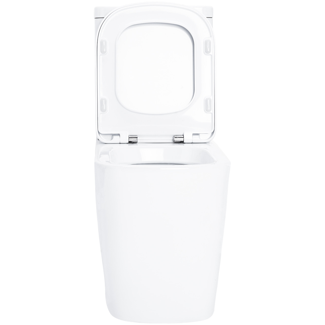 Galata Fully Back To Wall Close Couple Toilet with Soft Close Seat Front