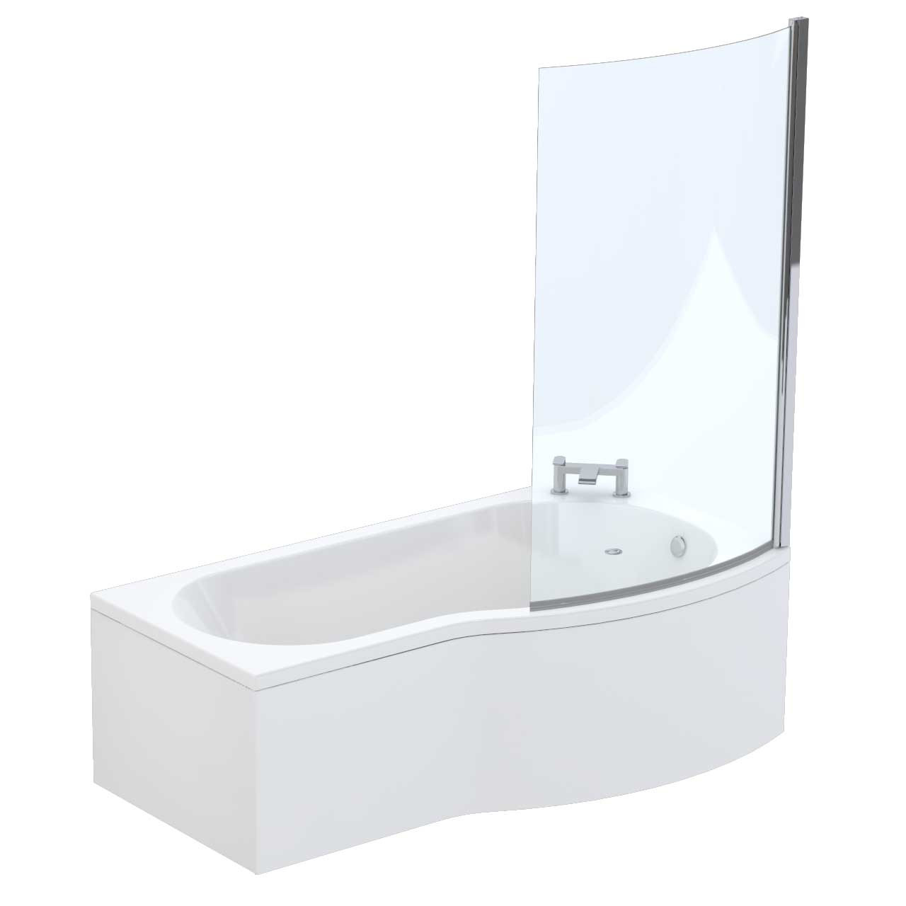 Galaxy Right Hand Shower Bath Suite