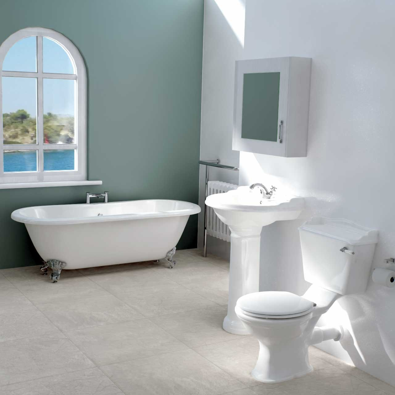 Grosvenor Freestanding Bath Suite