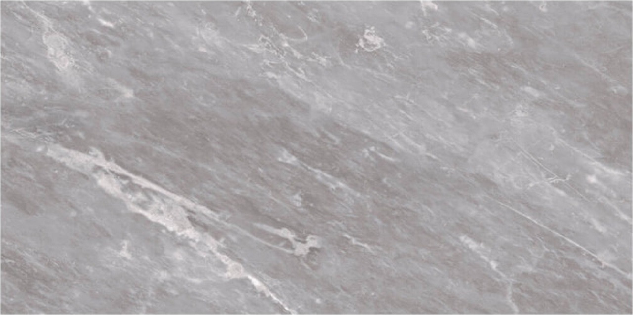 BCT High Definition Harmony Grey Marble Effect 24.8cm x 49.8cm Ceramic Wall Tile - BCT53613