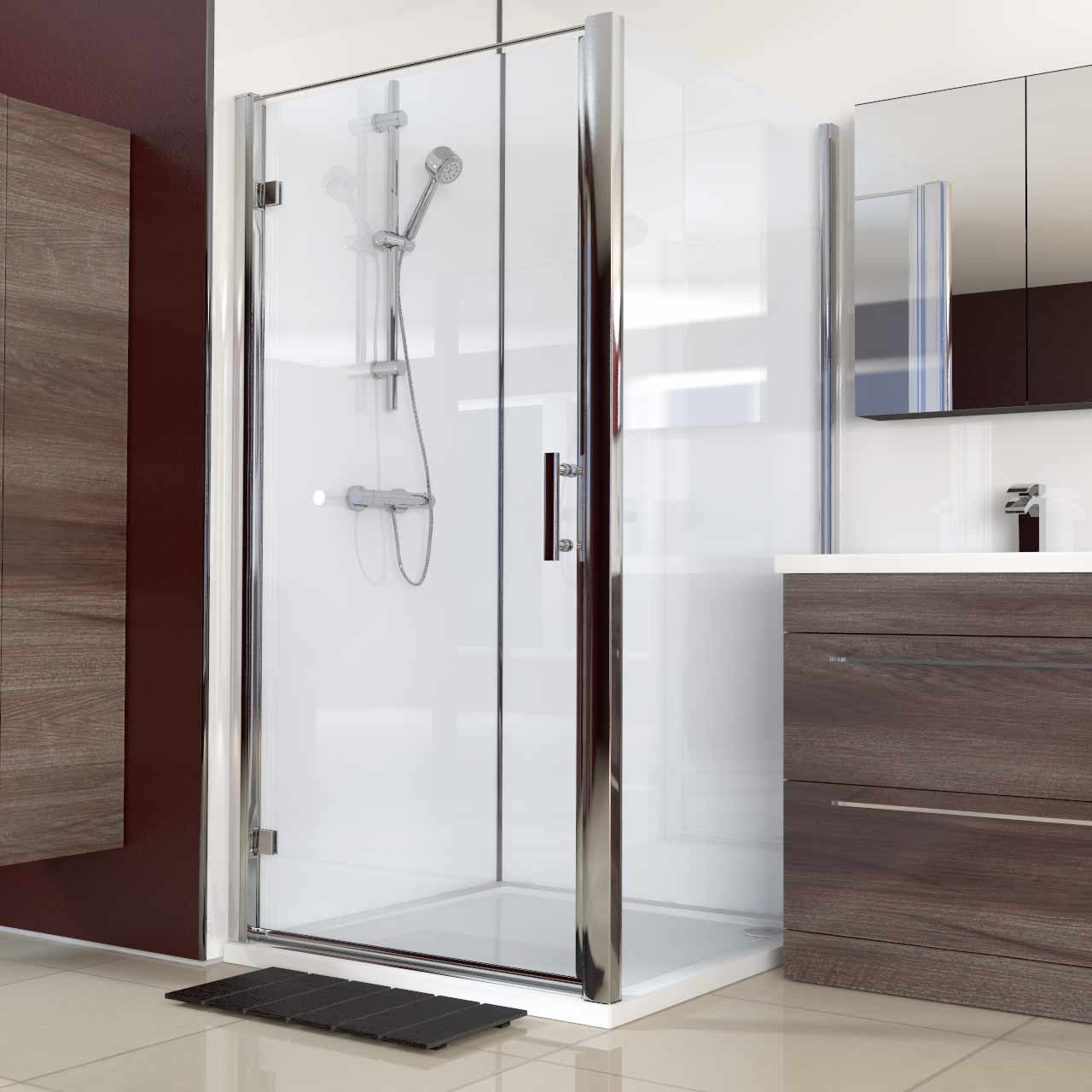 Series 6 1000mm x 1000mm Hinged Door Shower Enclosure