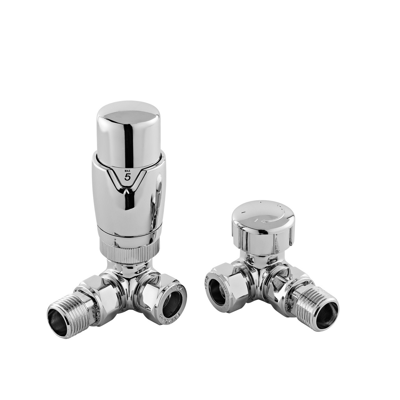 Nuie Corner Thermostatic Radiator Valves - HT317