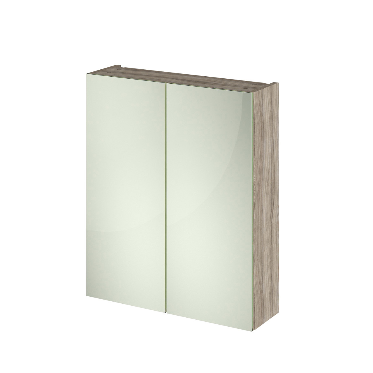 Hudson Reed 600 Fitted Mirror Unit (50/50) 715mm x 600mm x 182mm - OFF217