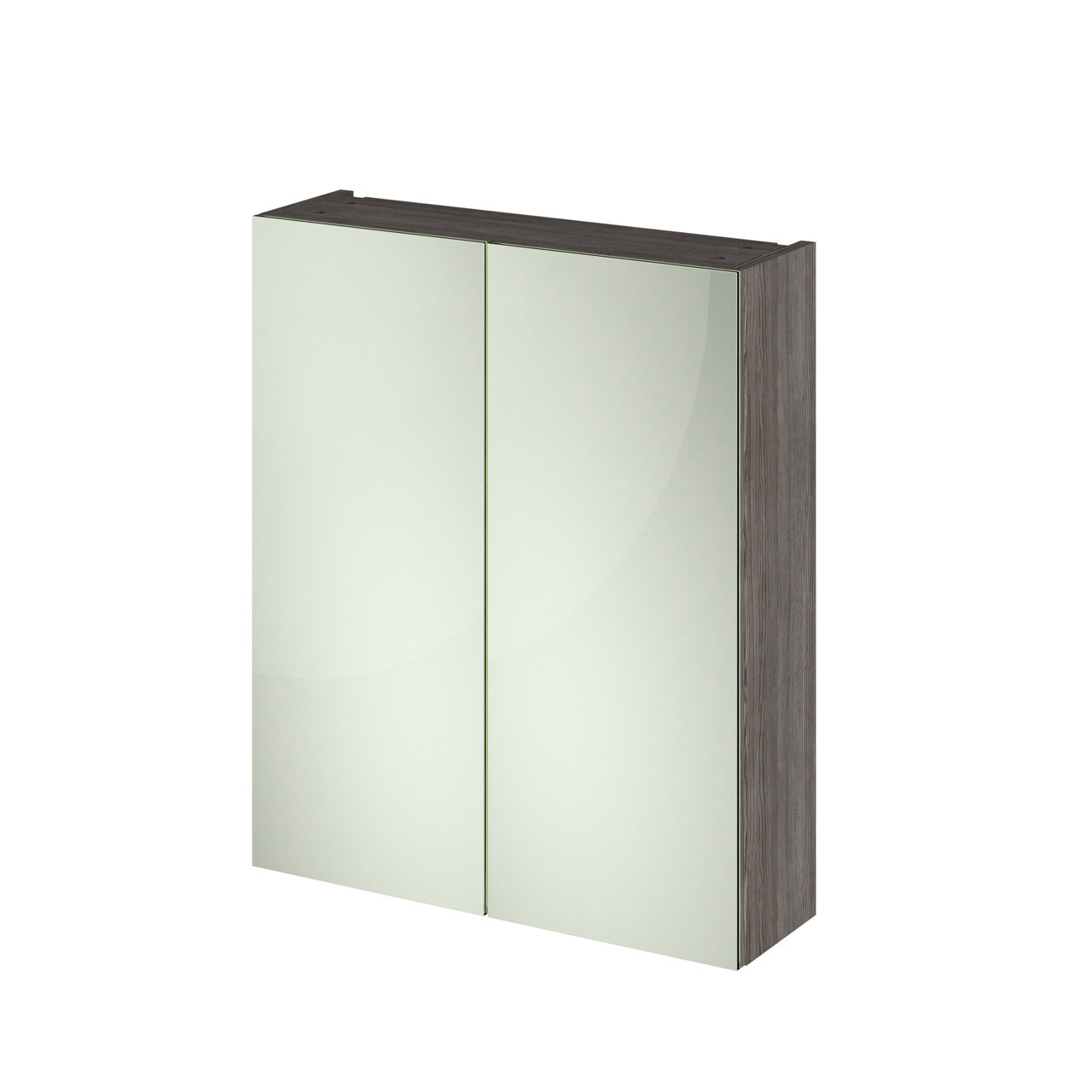 Hudson Reed 600 Fitted Mirror Unit (50/50) 715mm x 600mm x 182mm - OFF517