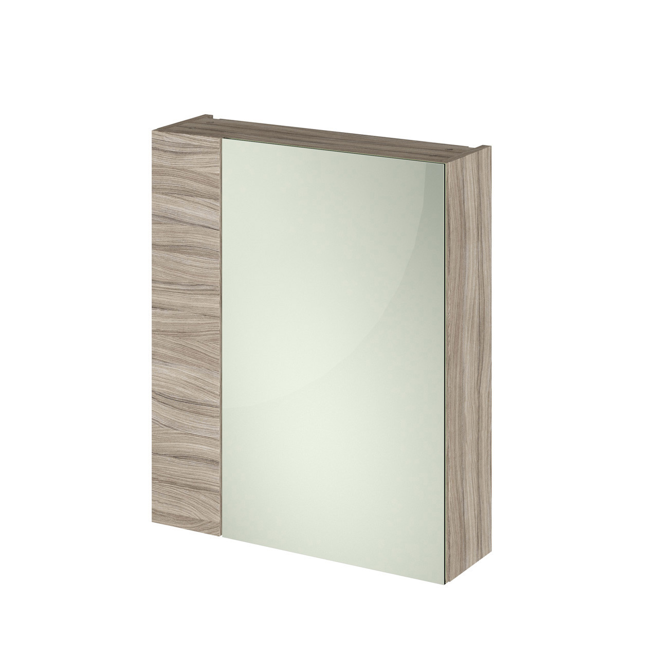 Hudson Reed 600 Fitted Mirror Unit (75/25) 715mm x 600mm x 182mm - OFF218