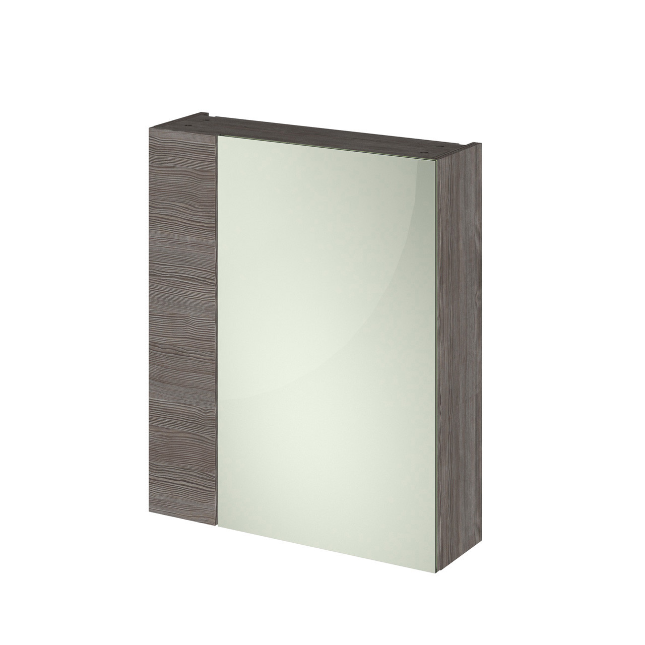 Hudson Reed 600 Fitted Mirror Unit (75/25) 715mm x 600mm x 182mm - OFF518