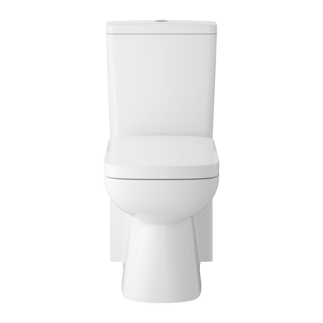 Hudson Reed Arlo Short Projection Toilet Pan, Cistern and Soft Close Toilet Seat - CPC027