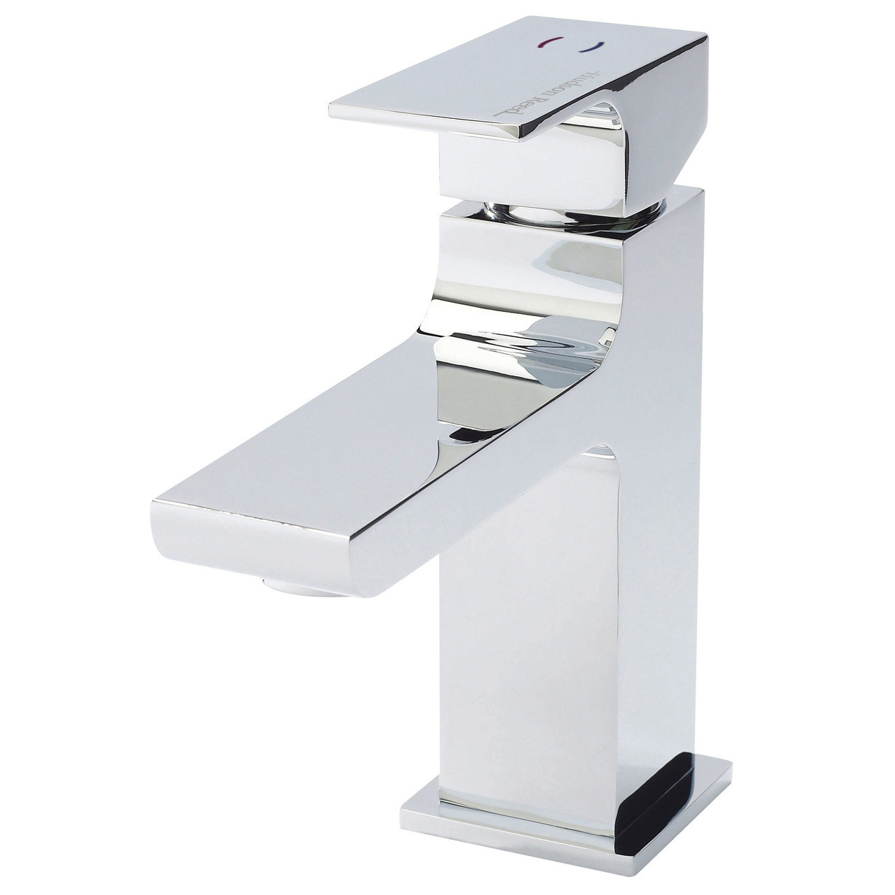 Hudson Reed Art Mono Basin Mixer with Push Button Waste - ART305