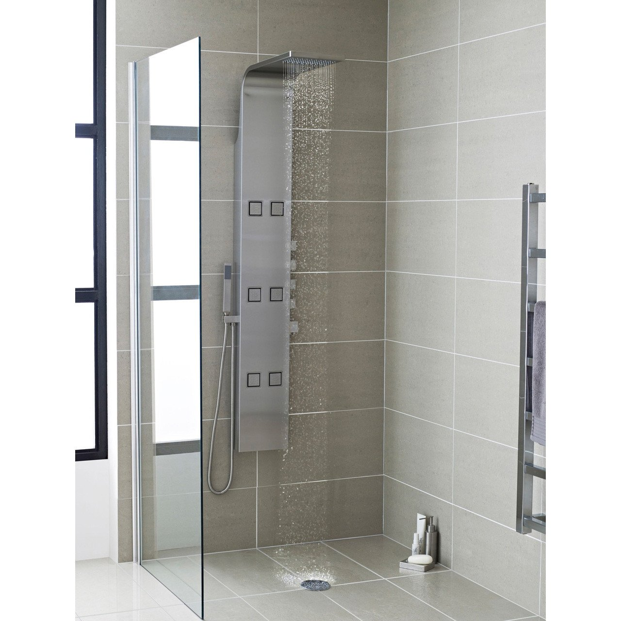 Hudson Reed Astral Thermostatic Shower Panel - AS326