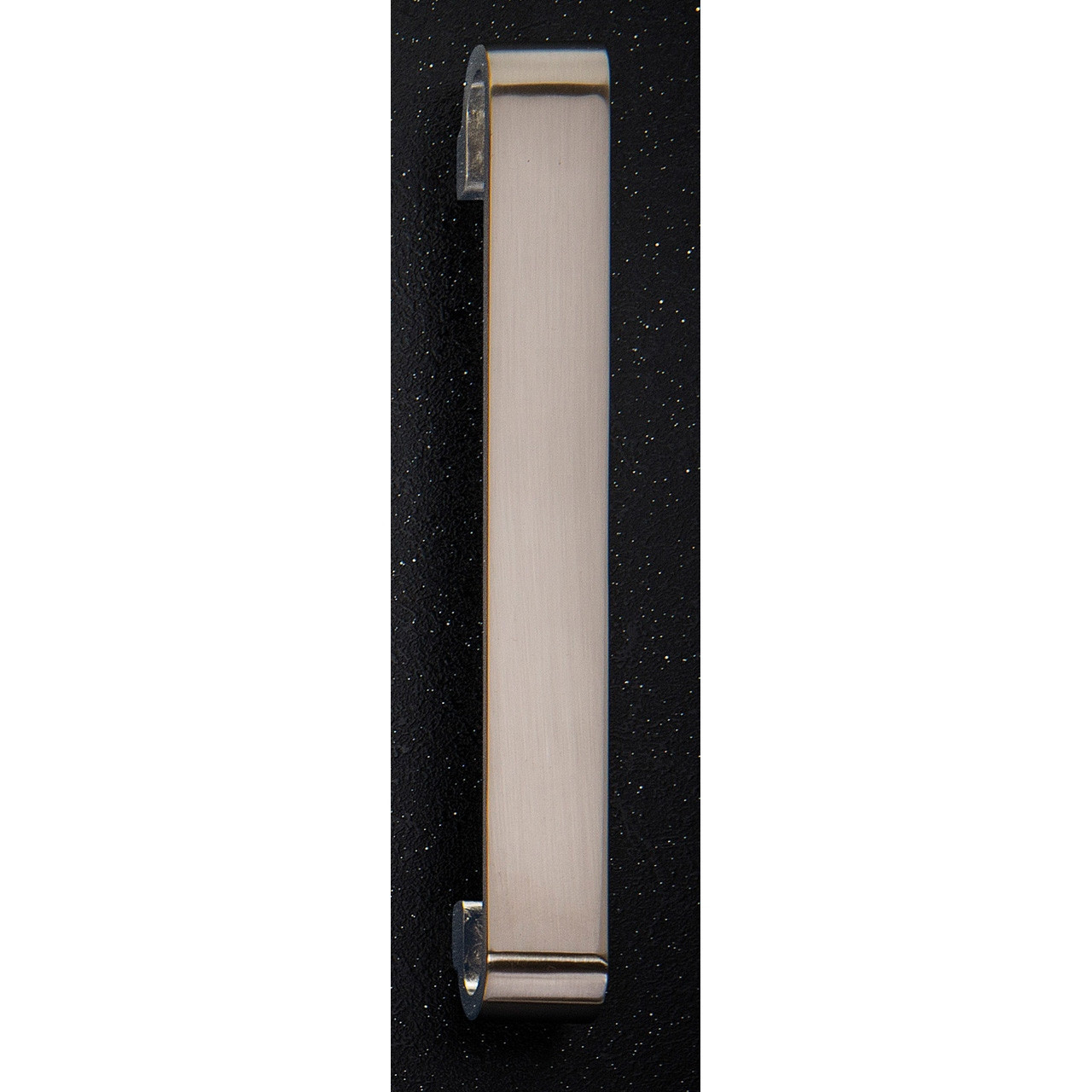 Hudson Reed Brushed Nickel D Shaped Handle 25mm Thick 202mm x 32mm - H919