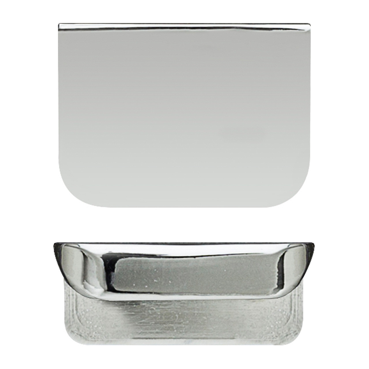 Hudson Reed Chrome Rear Fixed Small Handle 50mm x 37mm x 21mm - H050