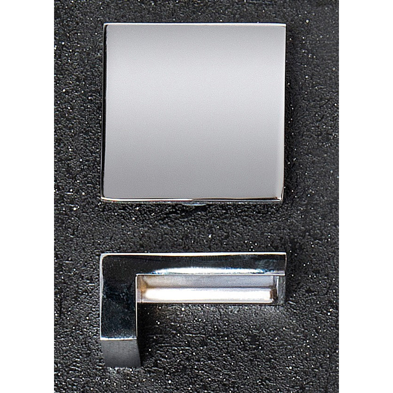 Hudson Reed Chrome Square Handle 50mm x 23mm - H098