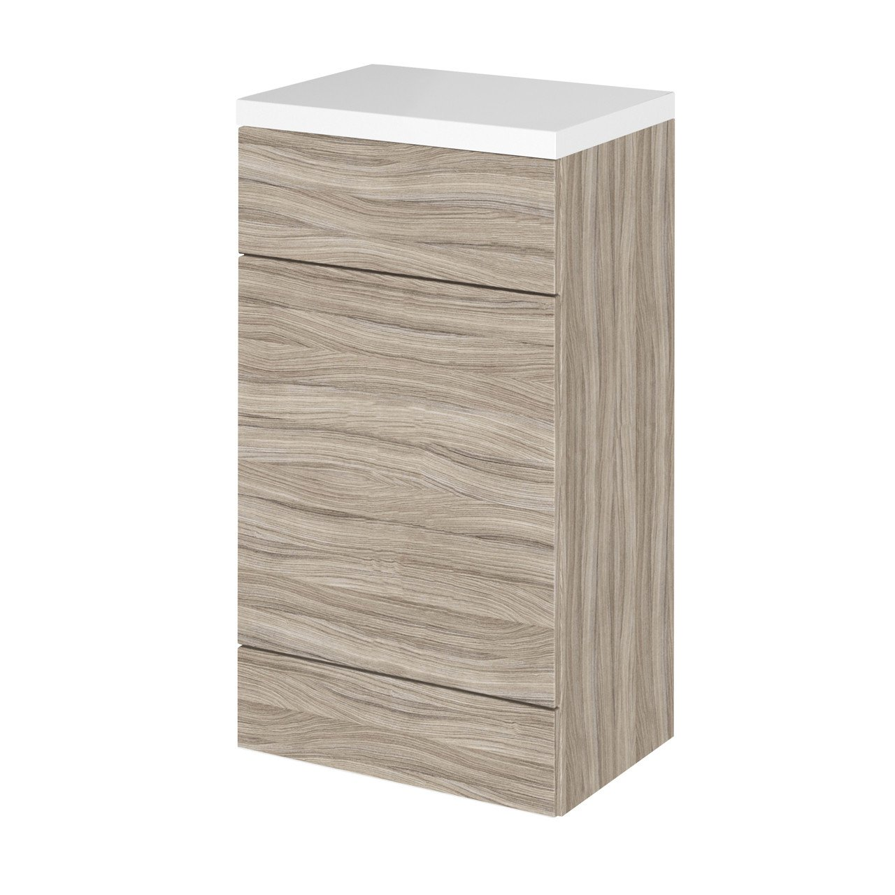 Hudson Reed Driftwood 500mm Full Depth Toilet Unit with Polymarble Top - CBI205