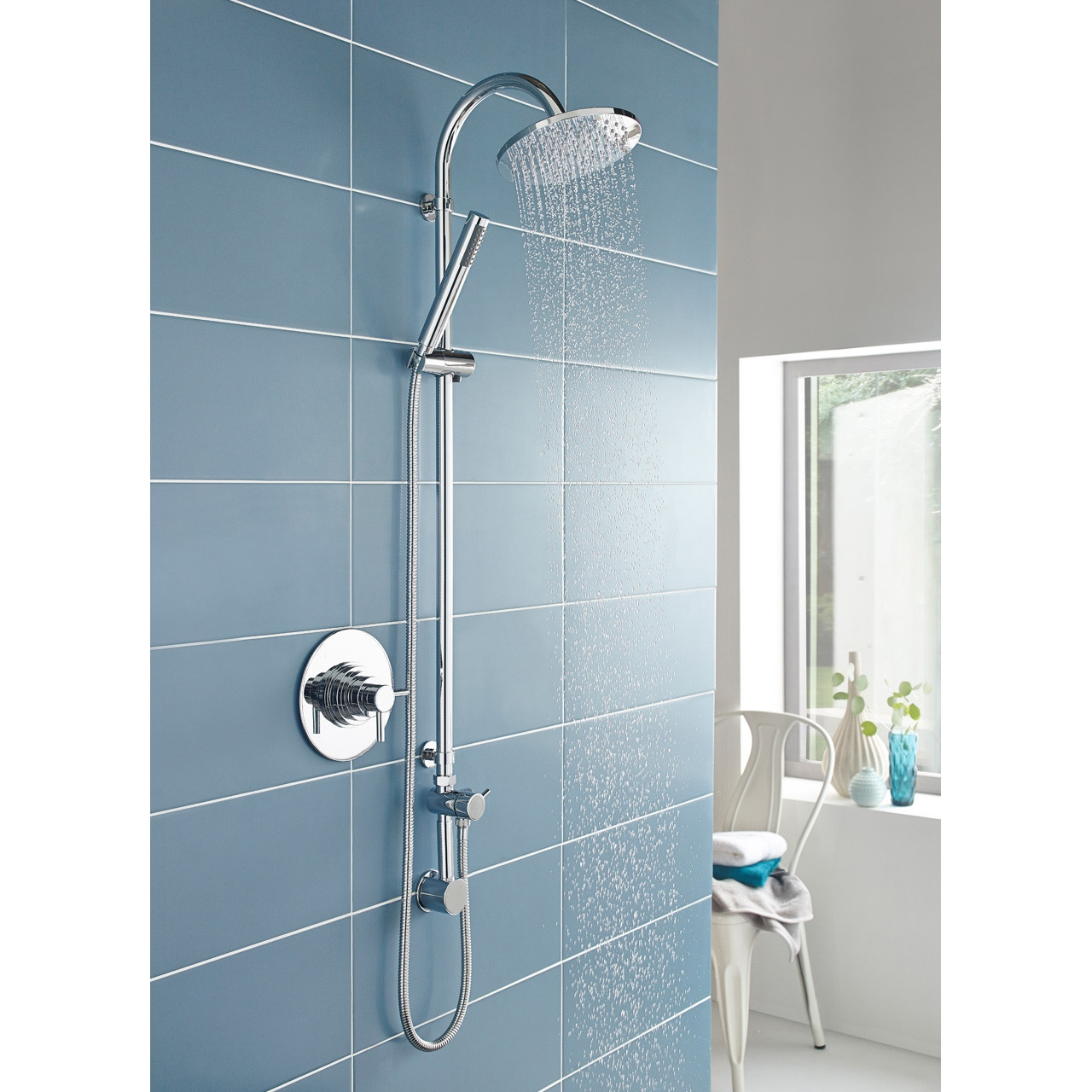 Hudson Reed Dual Concealed Thermostatic Shower Valve - JTY025