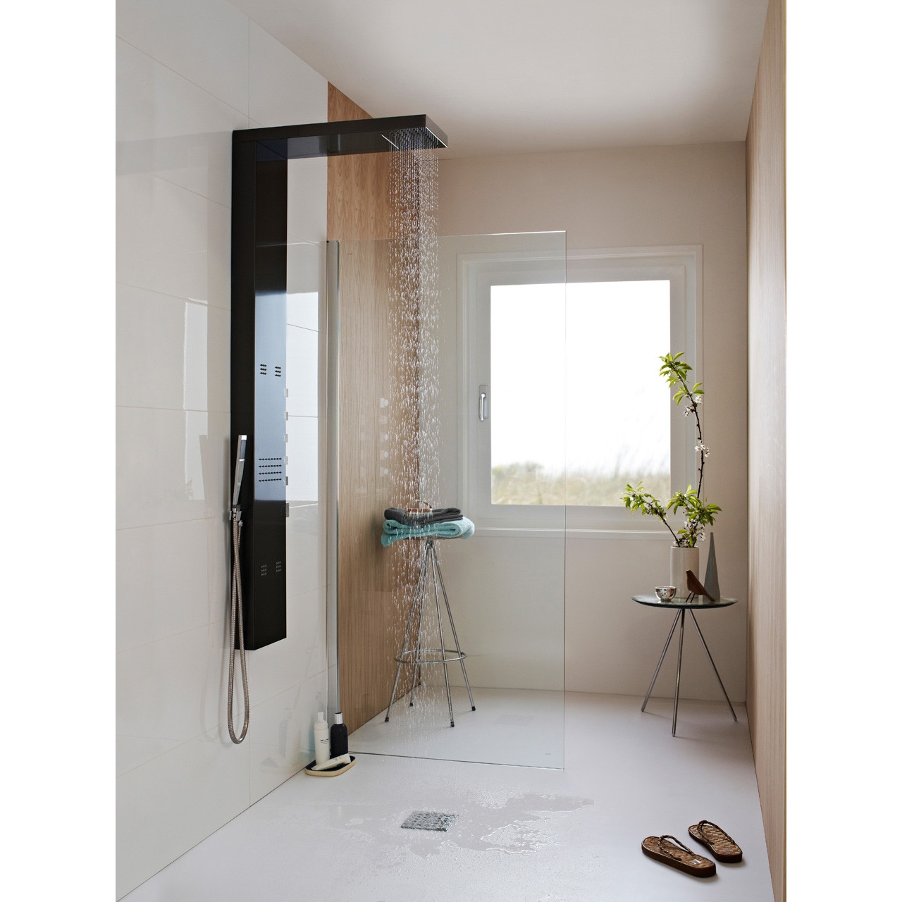 Hudson Reed Dusk Thermostatic Shower Panel - AS344