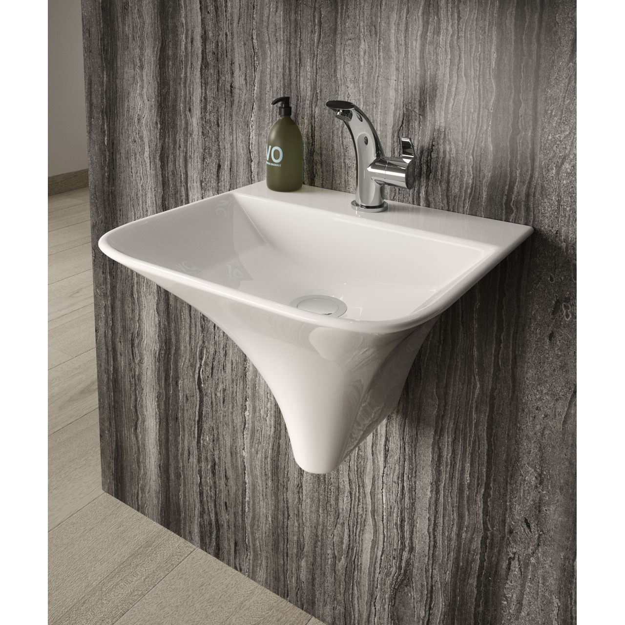 Hudson Reed Grace Wall Hung Basin - NCT102